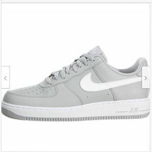 Nike Air Force One AF-1 Mens 13 Wolf Gray & White